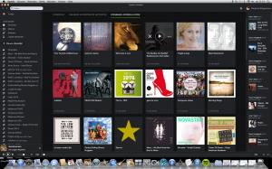 screenshot, spotify, april 2014, apple Imac,