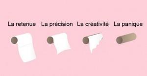 toiletpapier in het frans