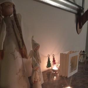 kerst schoorsteenmantel