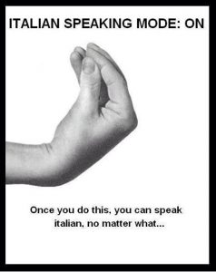 Italian speak