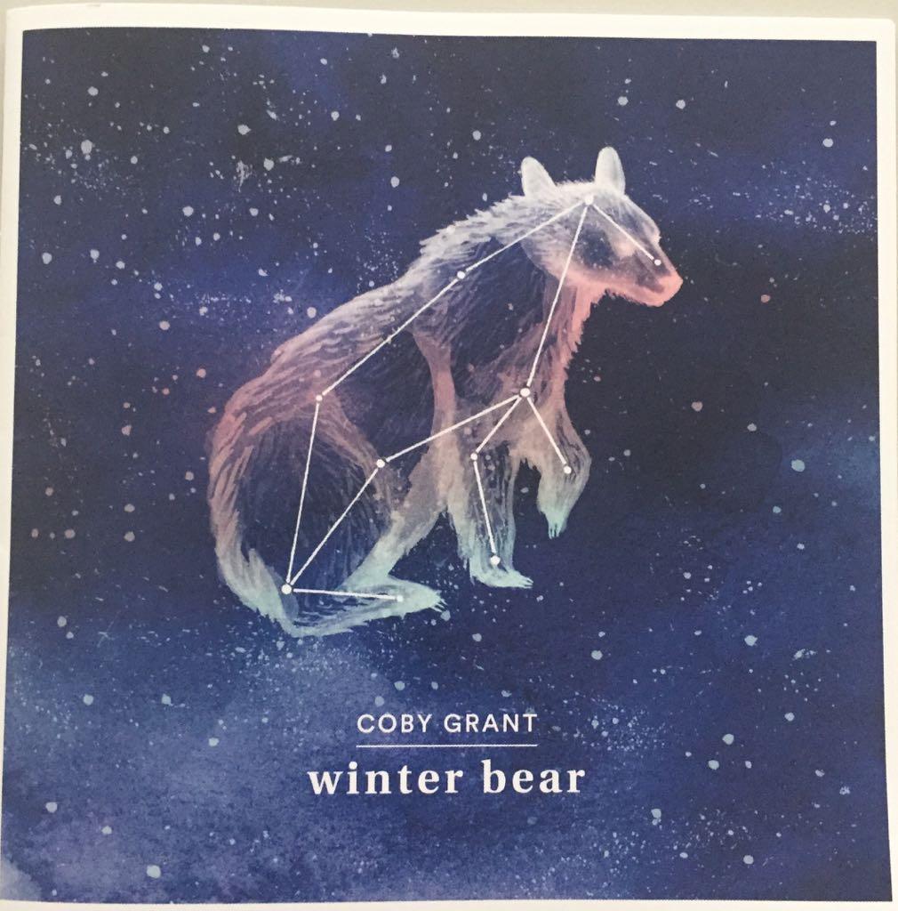 coby grant, coby grant, winter bear, blog, cd. overhaar, verdriet,