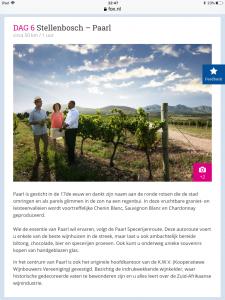 Paarl, rondreis, wijngebied, wine valley, blog overhaar, prijsreis, reis prijs, FOX, ANWB reizen Zuid Afrika